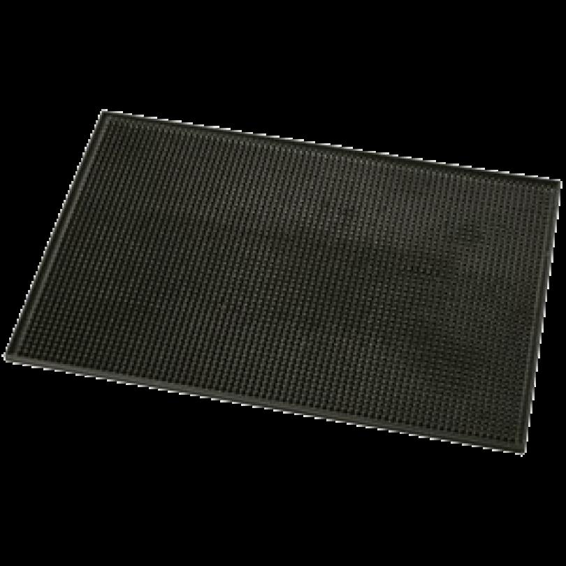 Коврик под инструмент резиновый, черный (Размер 45 х 30 см)