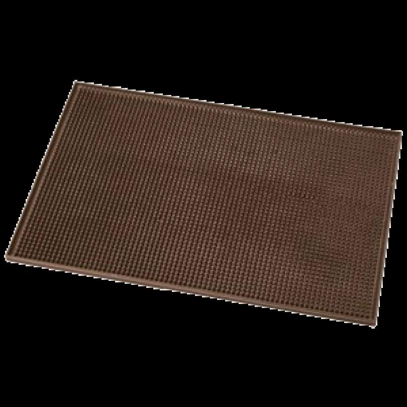 Коврик под инструмент резиновый, коричневый (Размер 45 х 30 см)
