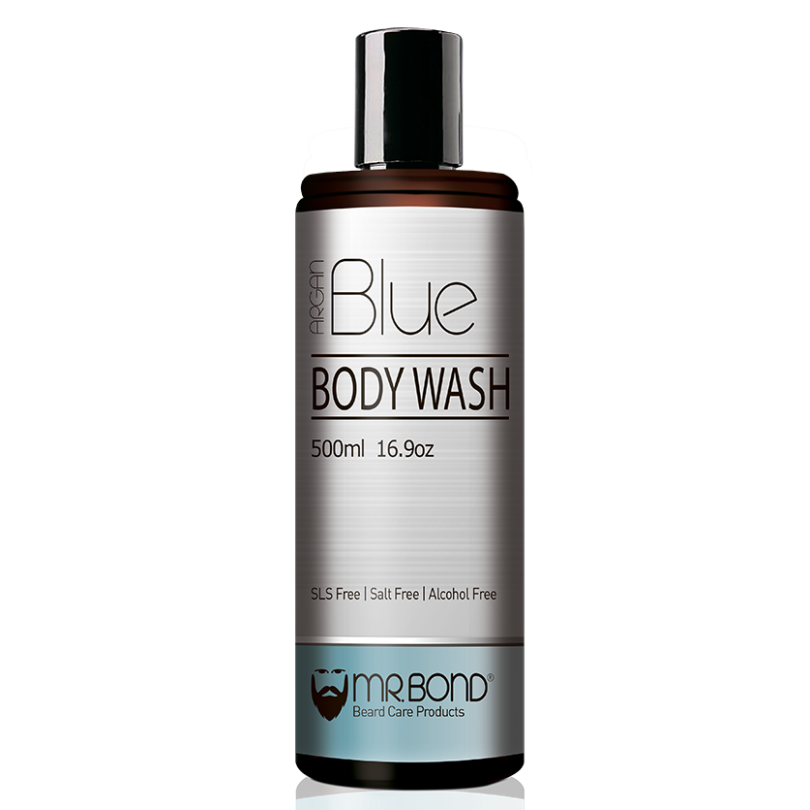 Mr. Bond Argan Blue Body wash Гель для душа 500 мл.