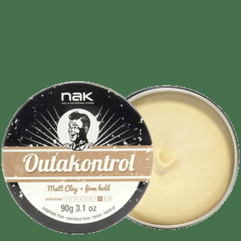 NAK OutaKontrol Matt Clay матовая паста для укладки сильной фиксации 90 г