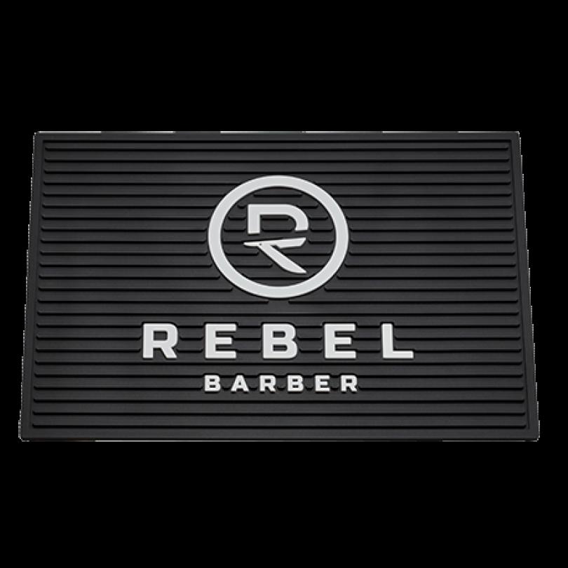 RB084 REBEL BARBER Резиновый коврик для инструментов 33х22 см.