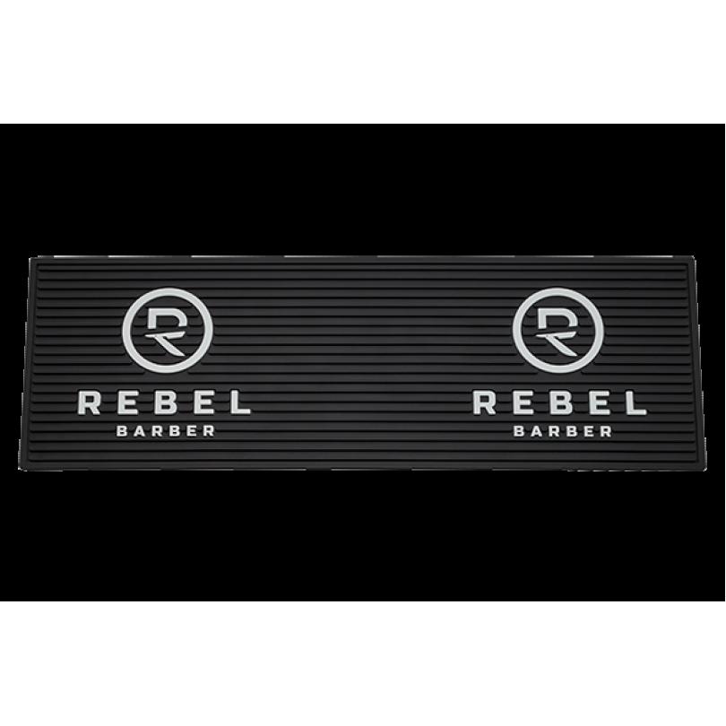 RB085 REBEL BARBER Резиновый коврик для инструментов 60х20 см.