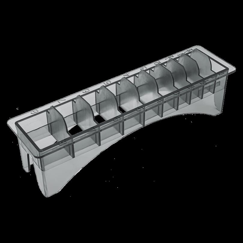 Пластиковая подставка под насадки 10 секций