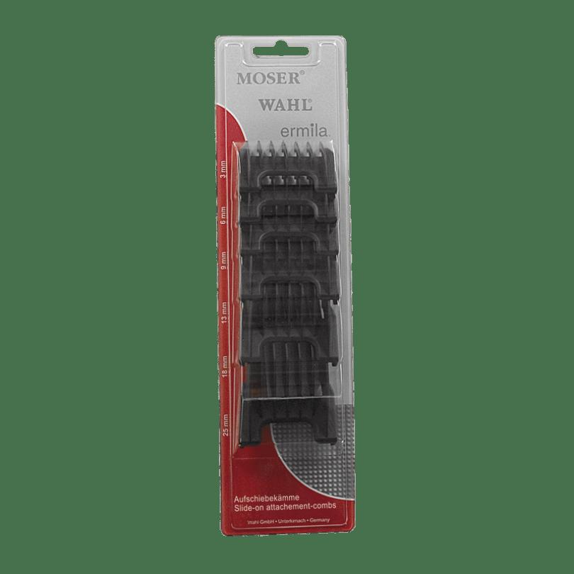 Wahl Набор насадок (черный пластик), 6 шт. для машинок Beretto