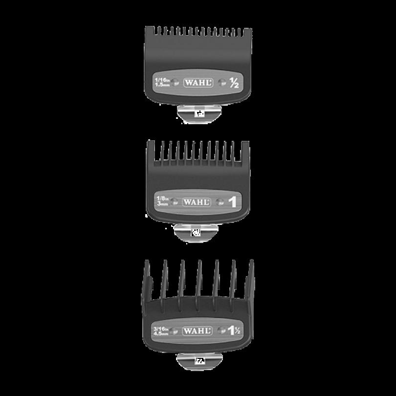 Wahl Набор Premium насадок 1,5; 3; 4,5 мм для машинок серии Taper