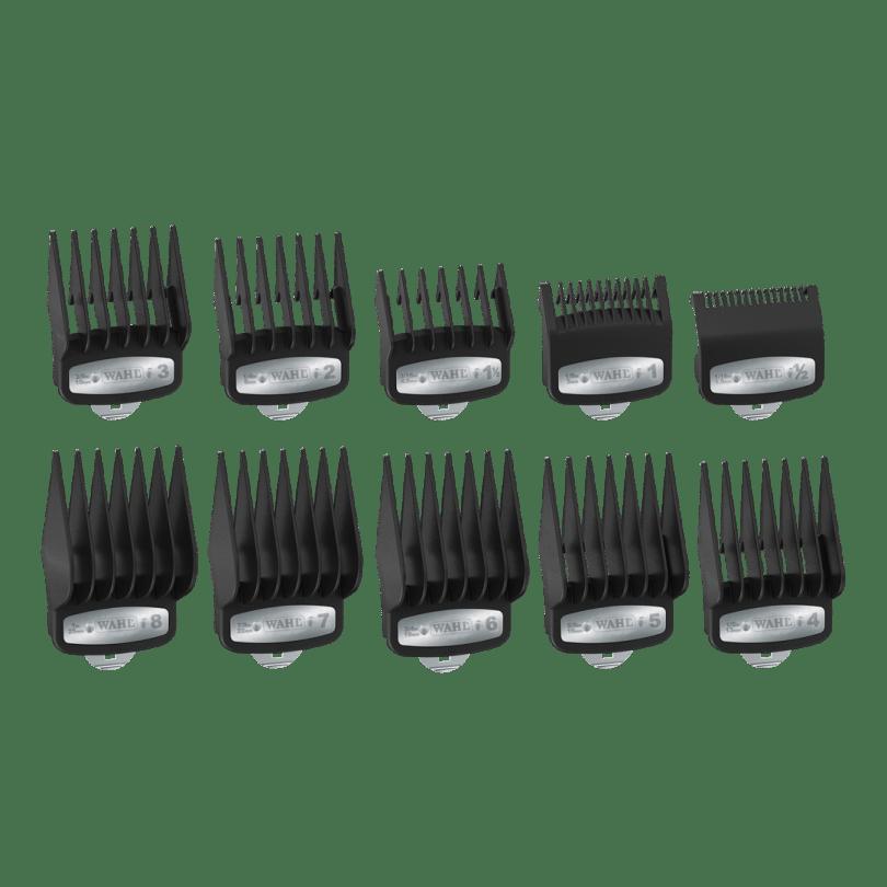 Wahl Набор насадок Premium 1,5-25 мм 10 шт. в пакете для машинок серии Taper