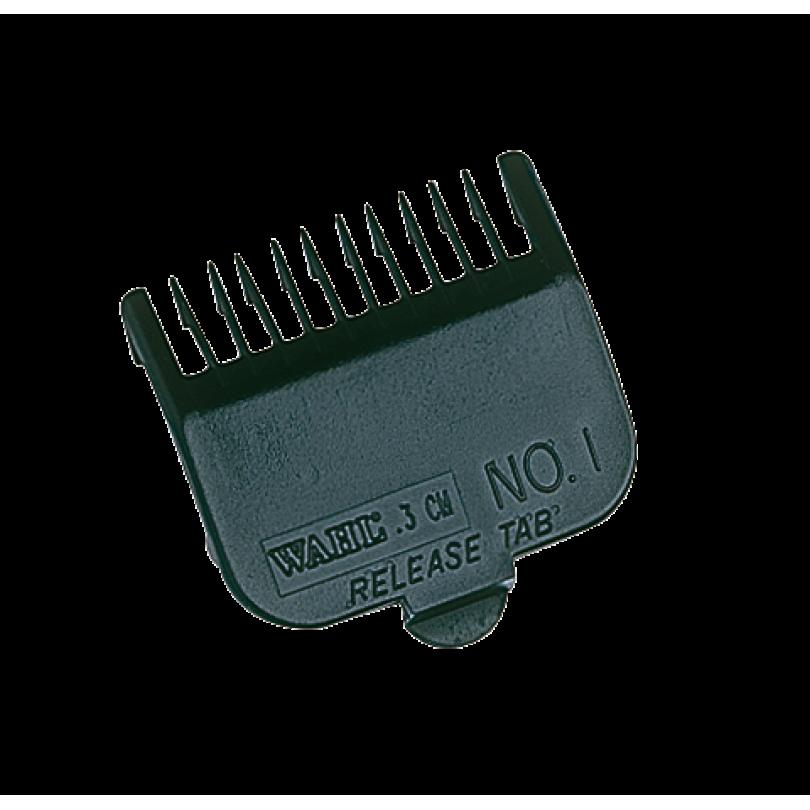 Wahl Насадка пластиковая 3 мм, цвет черный для машинок серии Taper
