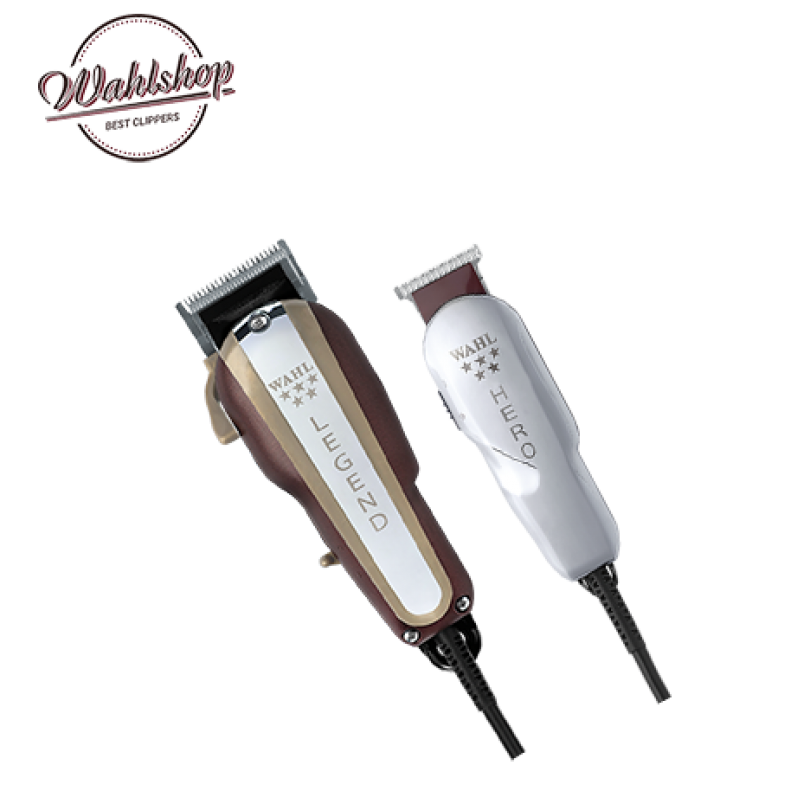 8180-016_4 Wahl Combo Legend+Hero (машинка+триммер)