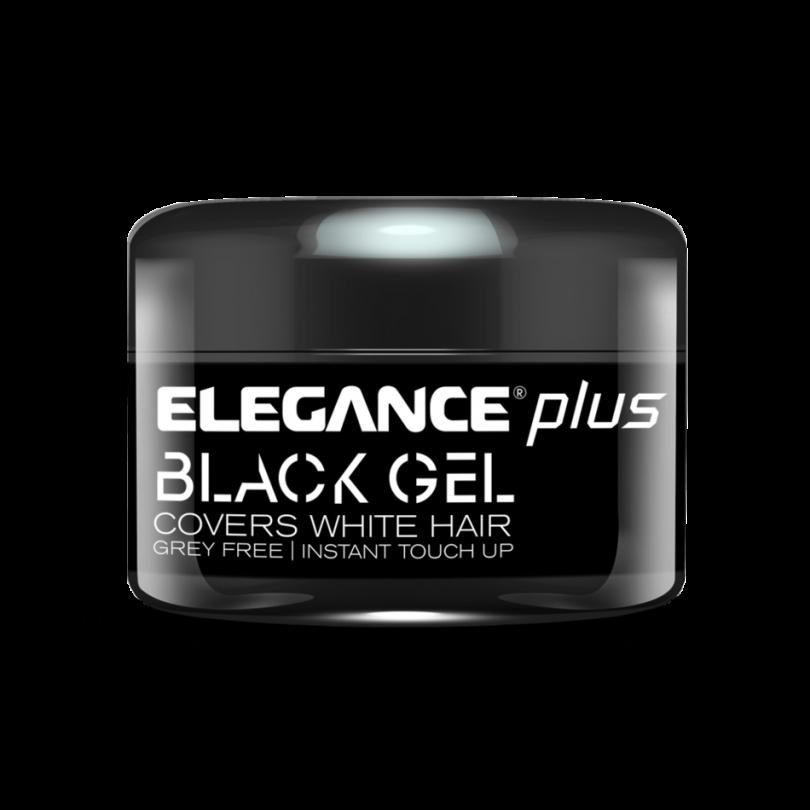 Elegance Гель для волос с эффектом зачернения 100 гр. (черный)